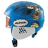 ALPINA Unisex - Kinder, CARAT SET DISNEY Skihelm, Donald Duck, 48-52 cm