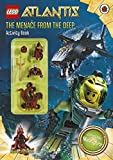 Lego Atlantis: The Menace From the Deep Activity Book with Lego Figurine