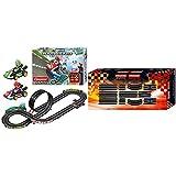 Carrera GO!!! Nintendo Mario Kart 8 Rennstrecken-Set   4,9m elektrische Carrerabahn mit Mario & Luigi Spielzeugautos   mit 2 Handreglern & Streckenteilen & GO!!! Ausbauset 2 Erweiterungsartikel