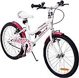 Actionbikes Kinderfahrrad Daisy - 12/16 / 20 Zoll – V-Break Bremse vorne - Stützräder - Luftbereifung - Ab 2-9 Jahren - Jungen & Mädchen – Kinder Fahrrad – Laufrad - BMX – Kinderrad (20 Zoll)