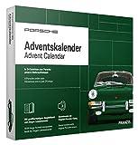 FRANZIS 67119 - Porsche 911 Adventskalender 2020 – in 24 Schritten zum grünen Porsche 911 unterm Weihnachtsbaum, Bausatz für das detailgetreue Modell-Auto im Maßstab 1:43, empfohlen ab 14 Jahren