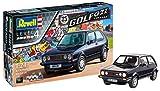 Revell Modellbausatz 05694 Volkswagen VW Golf GTI, Autobausatz im Maßstab 1:24 in der Pirelli-Sonderedition, maßstabsgetreu, mit vielen Details, Level 4