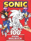 Anime Malbuch: Lustige Malbücher für Kinder von Malbuch für Kinder im Alter von 4-6, 6-8, 8-12! +100 Anti-Stress-Zeichnungen für Kinder, kreative Aktivitäten für Kinder - Malbuch für Kinder