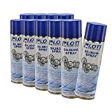 10X Lott Silikonspray 500ml / Silikon Spray Schmierstoff Schmiermittel Siliconespray