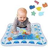 Wassermatte Baby, Airlab Aufblasbare Wasserspielmatte BPA-frei, Bauchzeit für Säuglinge und Kleinkinder, Baby Spielzeug 3 6 9 Monate, 70x50 cm, Weihnachtsgeschenk