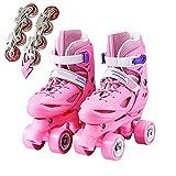 Kinder-inline-skates, Wandelbare Inline-skates Oder Zweireihige Rollschuhe, Geeignet Für Anfänger in Kinder-rollschuhe(Size:3 /(20CM) /34)