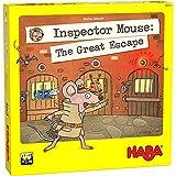 HABA 306113 Inspector Mouse: The Great Escape- Ein mousy Memory Spiel für 1-4 Detektive, ab 5 Jahren - Englische Version