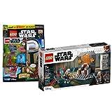 Lego Set - Star Wars Duell auf Mandalore 75310 + Lego Star Wars Heft Nr. 75 (Comics, Poster) mit at-ST Raider