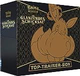 Glänzendes Schicksal Top Trainer Box - Deutsch + 100 x Heartforcards Card Guard Sleeves