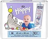 bella baby Happy Wickelunterlagen 40x60 cm ideal für unterwegs (2x30 Stück)