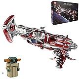 MERK UCS Sets, Raumkreuzer der Konsular-Klasse Modell, 8338 Teile Bauset für Erwachsene, Kompatibel mit Lego Star Wars