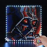LED Beleuchtungsset für Star Wars The Sith - Kompatibel mit Lego 31200 Bausteine Modell - Enthält nicht das Lego Set