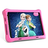 Hyjoy Kids Tablet, 8 Zoll Full-HD-Display (1080p) Android 10 Kinder Tablet, 2GB+32GB, Quad Core, WiFi, Bluetooth, Doppelkamera Tablet PC (Pink)