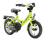 BIKESTAR Kinderfahrrad für Mädchen und Jungen ab 3-4 Jahre   12 Zoll Kinderrad Classic   Fahrrad für Kinder Grün   Risikofrei Testen