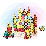Magnetisches Lernspielzeug für Kinder, 108-teiliges Kinderpuzle-Konstruktion STEM Buntes und langlebiges Magnetspielzeug für Säuglinge Kleinkinder Denkspiel