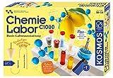 KOSMOS 642518 C1000 Chemielabor, BasisLaborausstattung, Chemie für Kinder ab 10 Jahre, Basislehrgang, Experimentierkasten