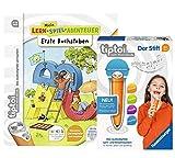 tiptoi Ravensburger Buch   Erste Buchstaben - Mein Lern-Spiel-Abenteuer 008018 Der Stift - mit Aufnahmefunktion