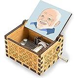 Grandpa Harold Vintage-Spieluhr aus Holz, Geschenk für Geburtstag/Jahrestag/Hochzeit/Muttertag