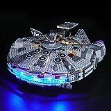 BRIKSMAX Led Beleuchtungsset für Lego Star Wars Millennium Falcon,Kompatibel Mit Lego 75257 Bausteinen Modell - Ohne Lego Set…