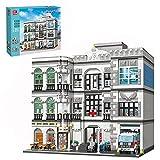 TopBau Krankenhaus Modular Building Haus Bausteine, 4953+Teile Bauset Street View Architektur Spielzeug Klemmbaustein Kompatibel mit Lego City