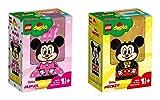 Steinchenwelt Lego Duplo Disney 2er Set: 10897 Meine erste Minnie Maus + 10898 Meine erste Micky Maus