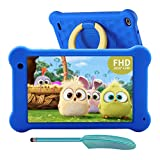 AEEZO Kids Tablet 7 Zoll WiFi Android 10 Tablet PC 2020 New FHD 1920x1200 IPS Screen, 2GB RAM 32GB ROM, Parental Control, Kidoz Installed, Eye Protection Anti Blue Light Screen Prime (Blau)