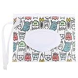 OBOYGANGNQE 1pc Tragbare Baby-Feuchttücher Box Feuchttücher Behälter Umweltfreundlich Einfach zu tragende Clamshell Kosmetische Reinigungstücher Etuis-10