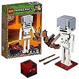 Lego 21150 Minecraft BigFig Skelett mit Magmawürfel