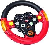 BIG 800056459 - Multi-Sound-Wheel - Lenkrad mit Verkehrssounds, für Bobby Cars ab dem Baujahr 2010, sowie für BIG-Traktoren, Spielzeuglenkrad für Kinder ab 1 Jahr