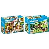 Playmobil 6927 - Ponyhof & 6928 - Pferdetransporter