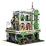 OATop Modular Haus Bausteine Modell - 2392 + Teilen Ruiniertes Restaurant Klemmbausteine Architektur Custom Bauspiel Kompatibel mit Lego