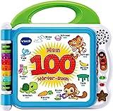 VTech 80-601504 Mein 100-Wörter-Buch Babybuch, Babyspielzeug, Babybücher