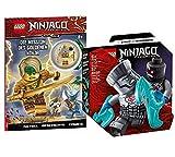 Collectix Lego Set - Ninjago Legacy Battle Set: Zane vs. Nindroid 71731 + Ninjago Die Mission des Goldenen Ninja (Softcover)