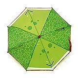 ARDITEX Parapluie Pour Enfant Fisher-Price La Grenouille 3D En Polyester 38Cm Regenschirm, 56 cm, Grün (Vert)