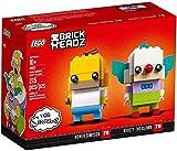 LEGO Brickheadz 41632 - Homer Simpson und Krusty der Clown