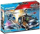 PLAYMOBIL City Action 70575 Polizei-Helikopter: Verfolgung des Fluchtfahrzeugs, Für Kinder von 4 - 10 Jahre