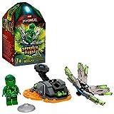 LEGO Ninjago 70687 Spinjitzu Burst Lloyds Spinner grün (48 Teile)