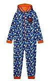 Nerf Onesie Kinder, Jumpsuit Kinder und Jugendliche, 100% Baumwolle Overall Einteiler, Weich Und Bequeme Onesie Kostüm für Kinder 4 -14 Jahre Kinder Geschenke (Blau, 11-12 Jahre)