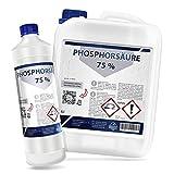 Phosphorsäure 75%, 5 L | Entroster, Rostlöser, Rostentferner, Rostumwandler (1, 5, 10 L)