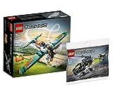 Collectix Lego Set - Lego Technic Rennflugzeug 42117 + Lego Technic Hubschrauber 30465 (Polybag)