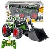 s-idee® S356 RC Traktor 1:16 mit 2,4 GHz ferngesteuert mit Licht und Sound Buldog