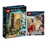 Collectix Lego Set - Harry Potter Hogwarts Moment Kräuterkundeunterricht 76384 + Rätselspaß für mutige Magier (Softcover)