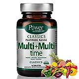 Time Released Multi-Vitamine Mineralien Spurenelemente| 21 Wirkstoffe Retard Tabletten | Monatspackung 30 Tabletten Mit C B D3 Vitaminen | Ohne Gluten, Laktose, Vegetarisch