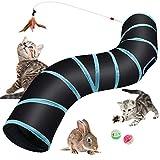 Hyselene Katzenspielzeug Katzentunnel,Katze Spielzeug Spieltunnel,S Katze Tunnel,Tunnel Kaninchen,Katzentonne,Katzentunnel Rascheltunnel,Tunnel Hundespielzeug,Für Katze,Kaninchen,Hunde,Meerschweinchen