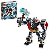 LEGO Marvel Avengers Classic Thor Mech Armor 76169 Cool Thor Hammer Spielset; Superhelden-Bauspielzeug für Kinder, New 2020 (139 Teile)