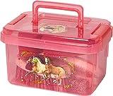 Spiegelburg Kinder Putzzeug Pferdefreunde - Pferdeputzzeug in praktischer Aufbewahrungsbox