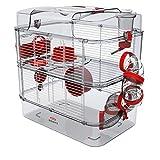 Zolux Käfig für Hamster, Mäuse, Rennmäuse, 3 Zoll Duo