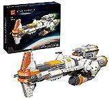 YOKES Weltraum Fregatte Modell, 1609 Teile Mega Fregatte Bausatz Kompatibel mit Lego Star Wars