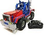 MODELTRONIC Autoradio Control 2 Autos in 1 Set LKW und Buggy aus Bausteinen 531 Teile je Technic C51002W