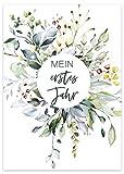 40 Meilensteinkarten Baby Geschenk zur Geburt Babyparty Schwangerschaft Geschenkset Fotokarten Babykarten Milestone-Cards Geschenkidee Erinnerungskarten Meilenstein Karten Baby-geschenke Junge Mädchen